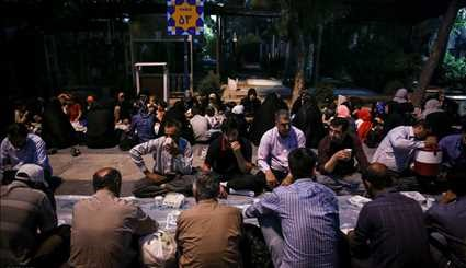 Iftar banquet hosted by 'martyrs'