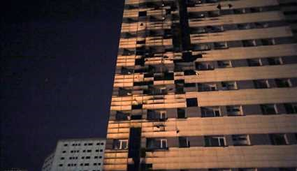Minor fire contained in Tehran residential tower