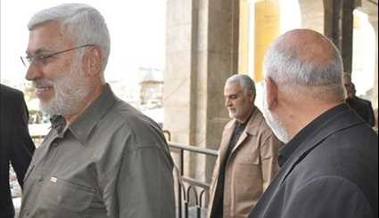 Iraq General Soleimani in Holy City of Karbala