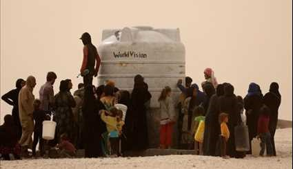 US' War Crime in Syria Civilians Killed, Displaced as US-Led Coalition Provides ...