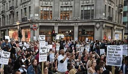 Protesters Storm Town Hall after London Fire