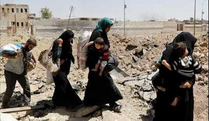 Iraqis Flee Mosul Old City as Army Troops Battle ISIL
