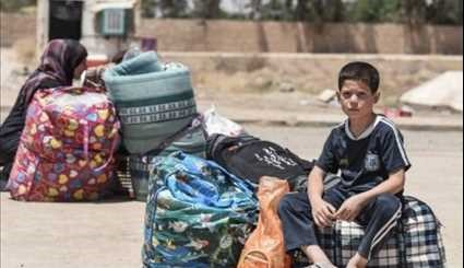 ISIL Prevents Civilians from Fleeing Mosul's Old City