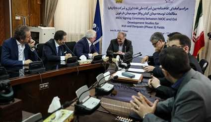 NIOC, Eni sign MoU on oil field development