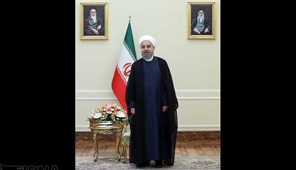 5 new envoys submit credentials to President Rouhani