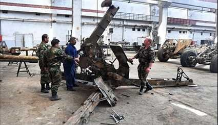 Syrian Military Plant Gives New Life to Army Weaponry
