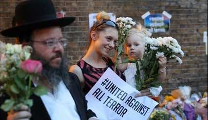 Vigil Held After Terror Attack On Muslim Worshippers in London