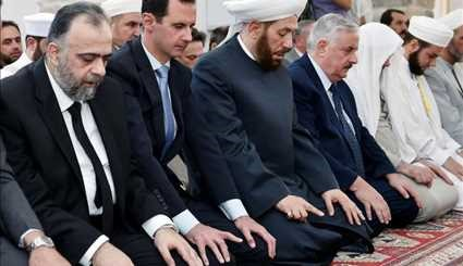 Syria's Assad in rare visits outside capital