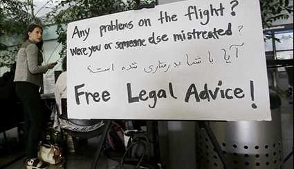 Protesters, Lawyers Descend on Airports