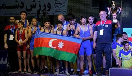 Iranian wrestlers stand 1st in 2017 Yadegar Imam Cup
