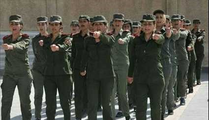 Syrian Army Employs Female to Defend Liberated Cities