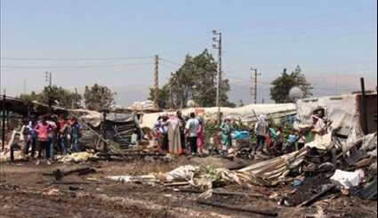 Another Fire Devastates Syrian Refugee Camp in Lebanon