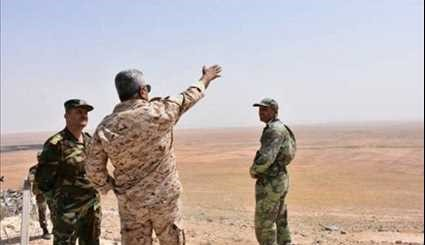 Syrian Army Troops Take Positions in Newly Liberated Area near Khanasser