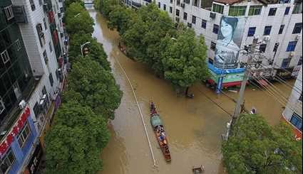 Floods Kill 56, Displace 1.2 Million in China