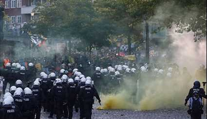 Germany Violent G20 Protests Continue in Hamburg