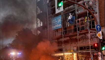 G20 Protesters Set Street Fires, Loot Stores
