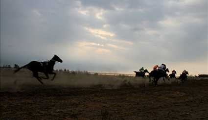 Horse racing in Bandar Torkaman