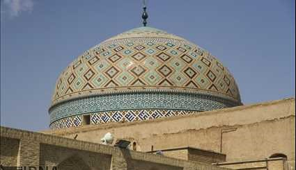Yazd in central Iran is inscribed to the list of the Cultural Organization (UNESCO)