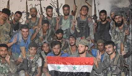 Syrian Army Makes More Gains in Northeastern Damascus