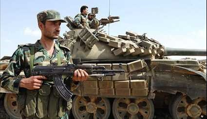 Syrian Army in Battle with Terrorists in Sweida