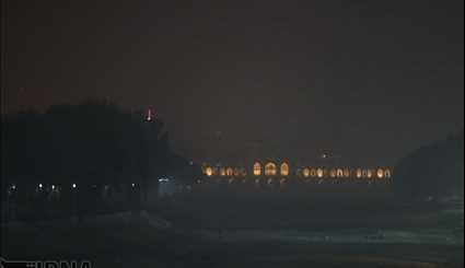 Dust flow in Isfahan city