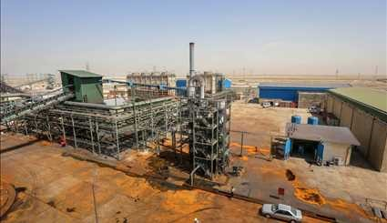 Shadegan Steel Plant, 1st with Iranian technology