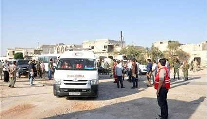 Hundreds of Syrian People Return to Liberated Towns in Hama