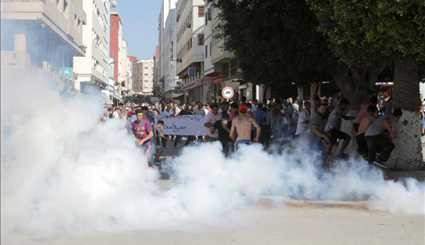 Protests in northern Morocco swell