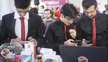 The International Exhibition of Electronic, (ELECOMP) underway in Tehran