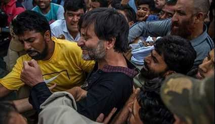 Kashmir Indian Troops Kill Young Man amid Protests