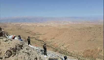Syrian Army, Hezbollah Forces Expand Control over Faliteh Heights in Eastern Qalamoun