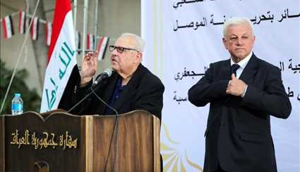 Mosul liberation celebrated at Iraqi Embassy to Iran