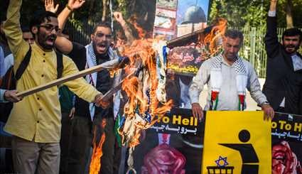 Iranians protest over Al-Aqsa Mosque desecration