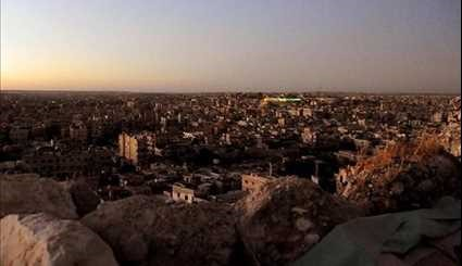 Syria Aleppo Rising from Ashes