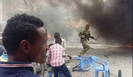 Huge Car Bomb Explosion Kills at Least Six in Mogadishu