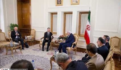 Today's meetings of the foreign minister of the Islamic Republic of Iran
