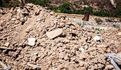 Destruction of Roudbar village in Behshahr with inauguration of Gloored Dam
