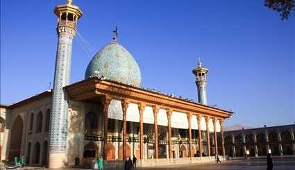 The holy shrine of Hazrat Ahmad ibn Musa Shahchragh (AS)