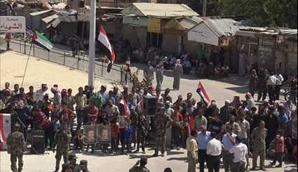 Syrians Celebrate Army Day