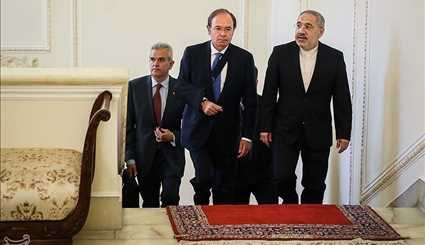 FM's meetings with guests of Rouhani's inauguration