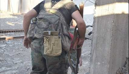 Syrian Army Advancing in Eastern Damascus