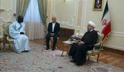 Rouhani meets with foreign dignitaries