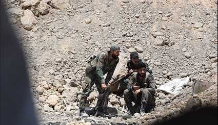 Syrian Army Keeps Momentum against Militants in Eastern Damascus