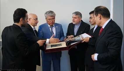 Meeting of Ministers of Culture of Iran and Kazakhstan / Pictures