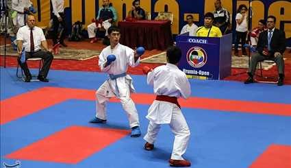 Intl. unity, friendship karate cup opens