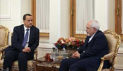 Zarif meets with UN envoy for Yemen