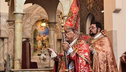 Feast of Blessing of Grapes in Saint Sarkis Cathedral