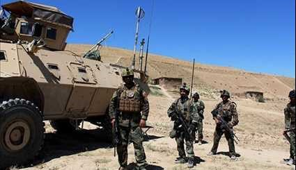 Afghan Forces Kill 17 Militants as Clashes Continue for Control of Northern District