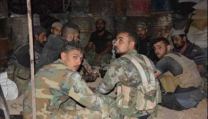 Syrian Army Tightly Holds Defense Lines in Eastern Damascus