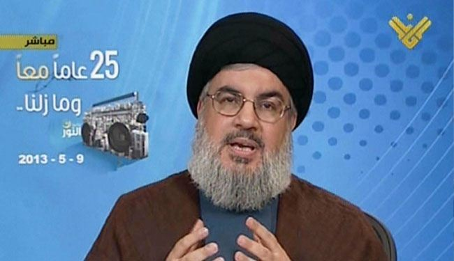 Nasrallah offers to help Syria free Golan Heights